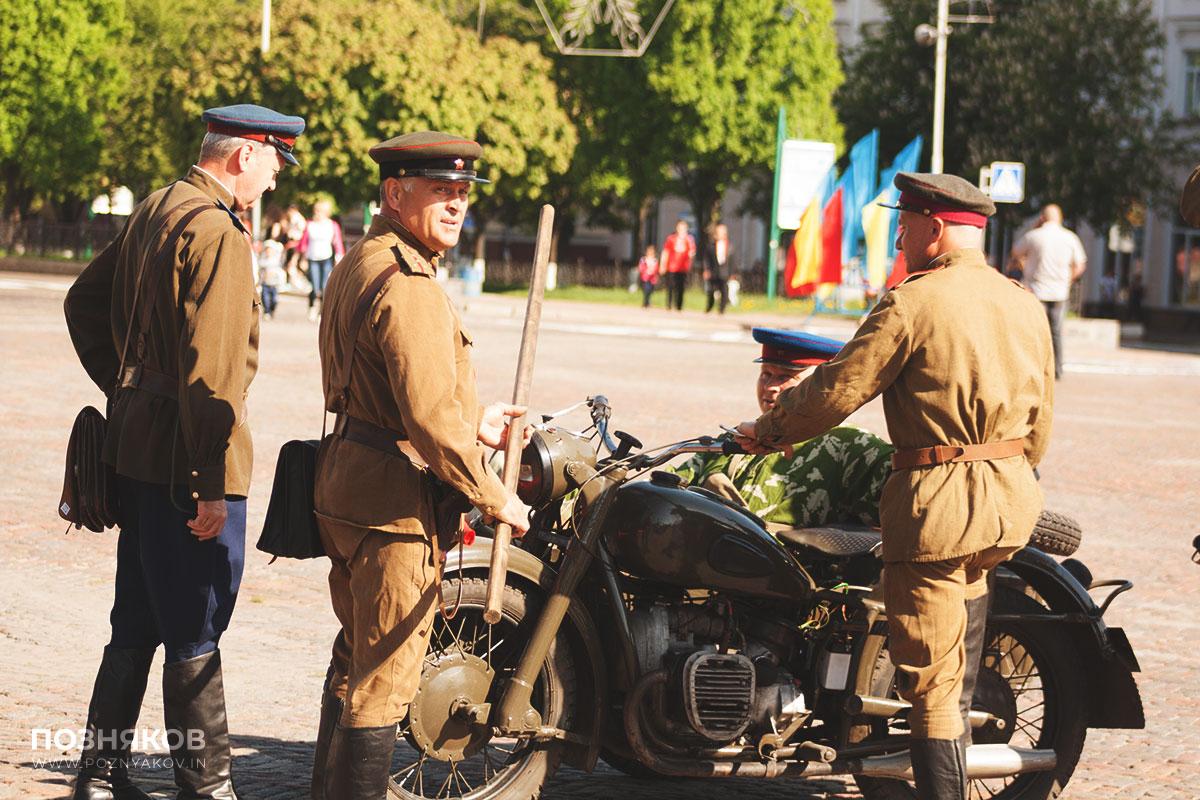 Военно-исторические реконструкторы