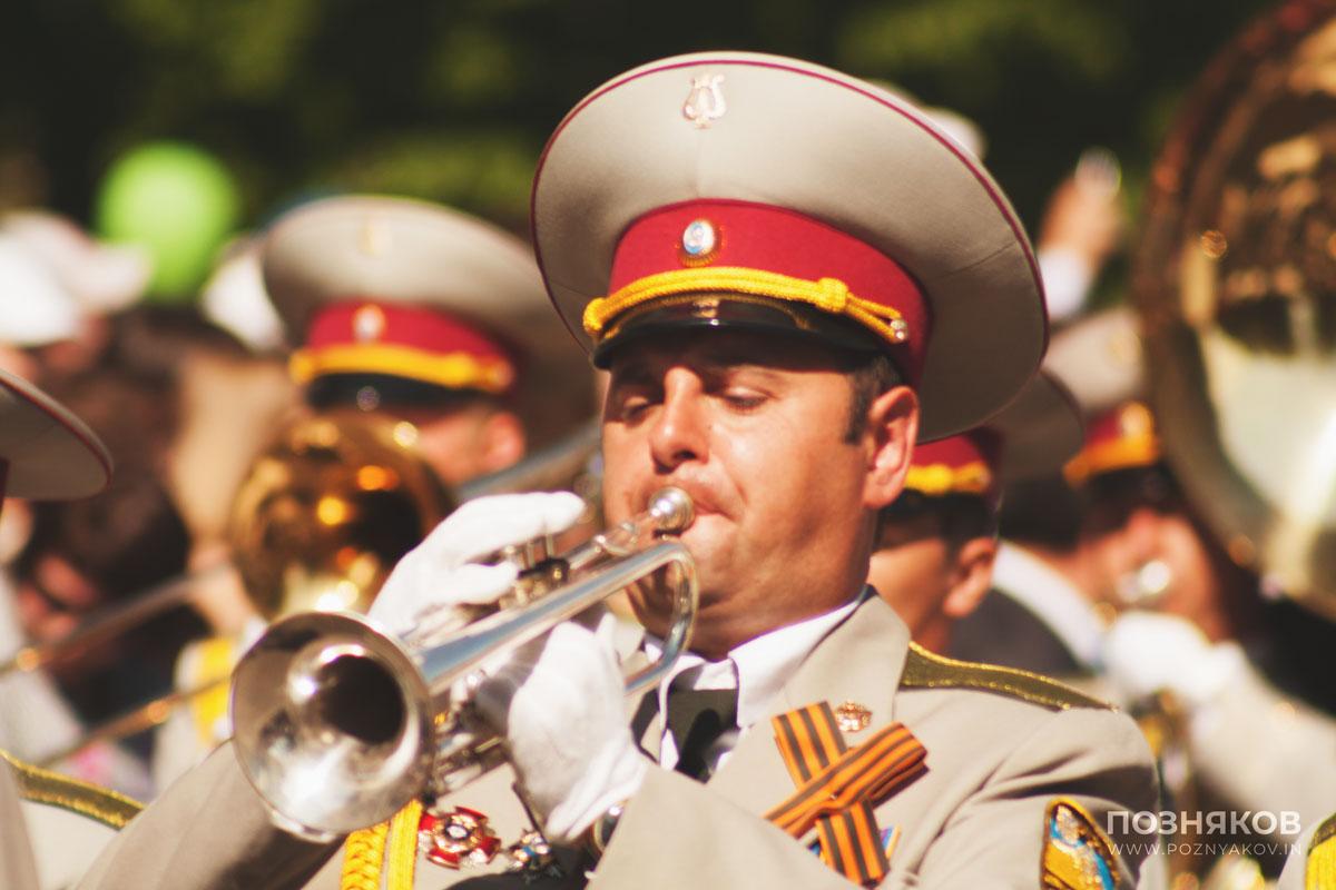 9 мая: военный оркестр